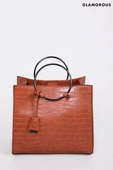 Glamorous Ring Detail Handbag