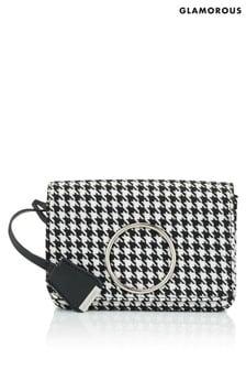 Glamorous Dogtooth Crossbody Bag