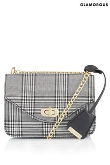 Glamorous Check Cross Body Bag