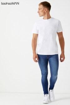 Boohoo Man Spray On Skinny Jeans