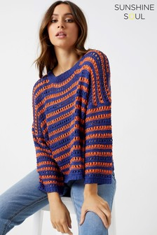 Sunshine Soul Striped Jumper