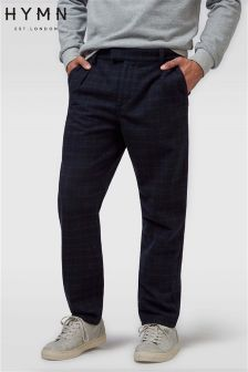 Hymn Check Wool Trousers
