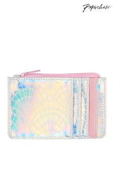 Paperchase Mermaid Squad Iridescent Pass Case