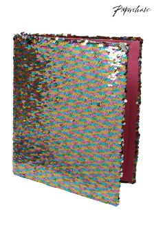 Paperchase Mermaid Squad A4 Sequin Ringbinder