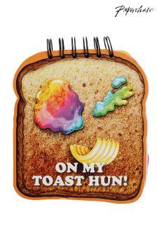 Paperchase Philip Normal Die Cut Breakfast Notebook