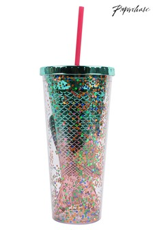 Paperchase Glitter Beaker Bottle