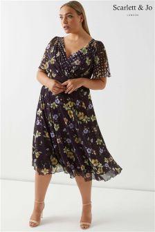 Scarlett & Jo Floral Dress