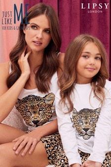 Lipsy Leopard Short Pyjama Set
