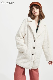 Miss Selfridge Teddy Coat