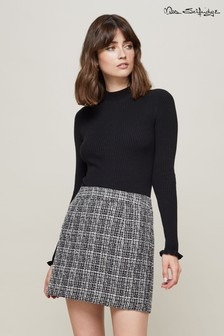 Miss Selfridge Mini Boucle Skirt