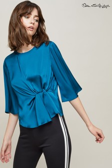 Miss Selfridge Twist Front Blouse