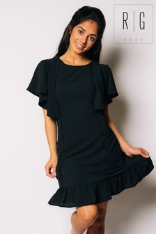 Madam Rage Ruffle Shift Dress