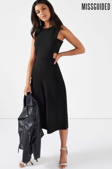 Missguided Tab Side Culotte Jumpsuit