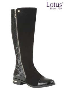 Lotus Knee Comfortable Boots