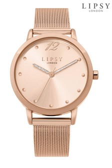 Lipsy Mesh Bracelet Watch