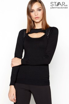 Star By Julien Macdonald Peekaboo Jumper