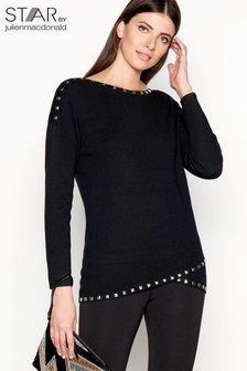 Star By Julien MacDonald Stud Detail Tunic