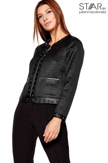 Star By Julien MacDonald Coated Tailored Jacket