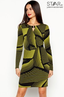Star By Julien Macdonald Chunky Stripe Dress