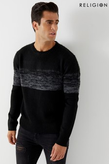 Religion Fade Knitted Jumper