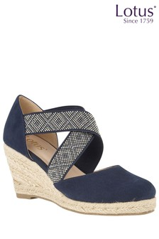 Lotus Rope Effect Espadrille
