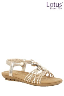 Lotus Pearl Effect Sandals