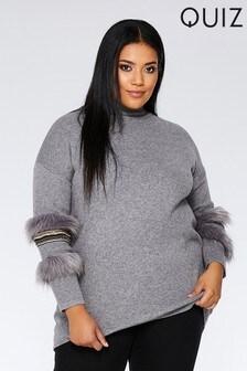 fdd2c0ae7f742 Buy Women s knitwear Knitwear Quiz Quiz from the Next UK online shop