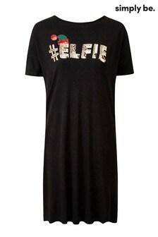 Simply Be Elfie T-Shirt Dress