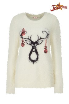 Joe Browns Reindeer Christmas Jumper