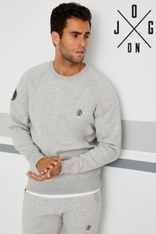 Jog On London Marl Standard Crew Neck Sweatshirt