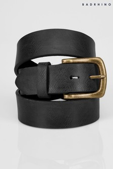 Bad Rhino Belt with Bronze Buckle