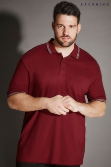 Bad Rhino Pique Tipping Polo Shirt