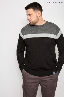 Bad Rhino Block Stripe Jumper