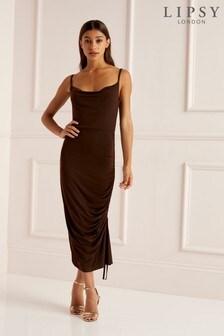 Lipsy Cowl Neck Dress