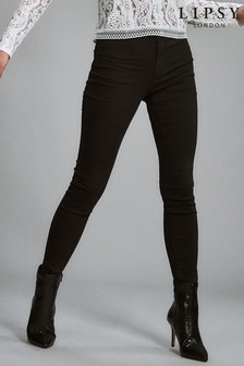 Lipsy Selena High Rise Long Length Skinny Jeans