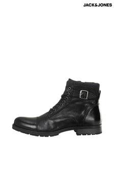 Jack & Jones Leather Hiker Boots