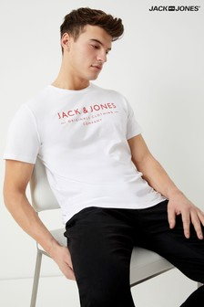 Jack & Jones Originals Logo Print T-shirt