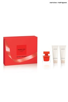 Narciso Rodriguez Rouge EDP 50ml, Body Lotion 75ml & Shower Gel 75ml Gift Set