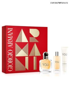 Emporio Armani Because It's You Eau de Parfum 50ml Gift Set