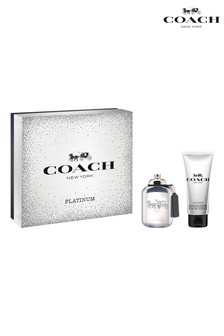 Coach For Men Platinum Eau de Parfum 60ml & Shower Gel 100ml Gift Set