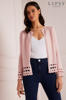 Lipsy Cut Out Cardigan