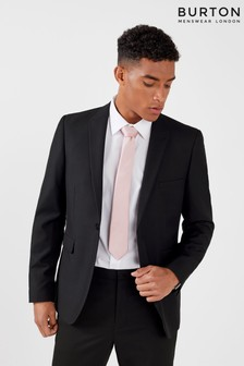 Burton Skinny Fit Black Suit Jacket