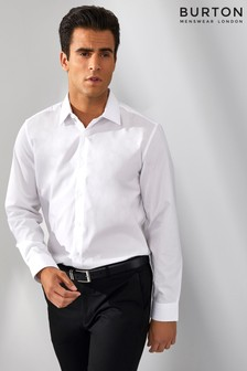Burton White Formal Shirt