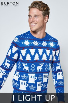 Burton Light Up Christmas Jumper