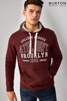 Burton Collegiate Print Sweat Top