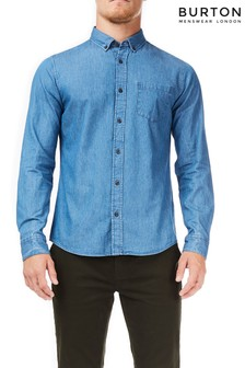 Burton Mid Wash Denim Shirt
