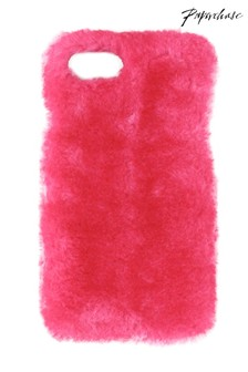 Paperchase Fluffy Faux Fur Case