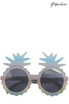 Paperchase Pineapple Glitter Glasses