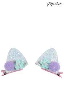 Paperchase Glitter Ear Hair Clips