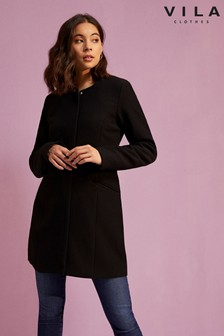 Vila Vapour Neck Dress